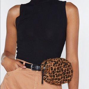 Leopard Belt Bag - New!!